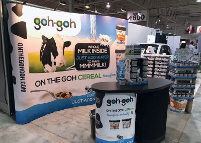 Goh-Goh Cereal Trade Show Booth & Displays